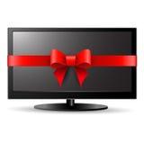 Cadeau de TV Photos libres de droits