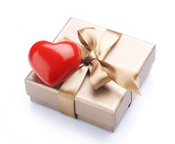 Cadeau de Valentine Image libre de droits