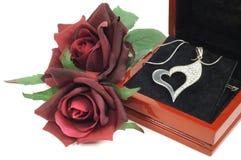 Cadeau de Valentine Photos libres de droits