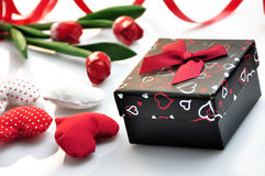 Cadeau de Valentine Image stock