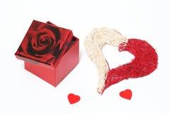 Cadeau de Valentine Photographie stock libre de droits