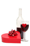Cadeau de Valentines Photo stock