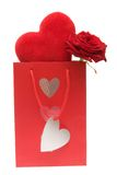 Cadeau de Valentines Image libre de droits