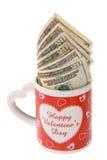 Cadeau de Valentines Photos libres de droits