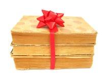 Cadeau de vieux livres Photographie stock