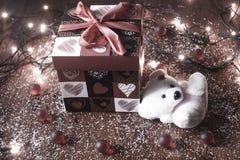 Cadeau du coeur Images stock