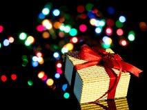 Cadeau emballé Photographie stock libre de droits