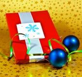 Cadeau enveloppé Images libres de droits
