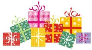 Cadeau enveloppé Photographie stock libre de droits