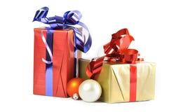 Cadeau et babioles d'isolement Photos libres de droits