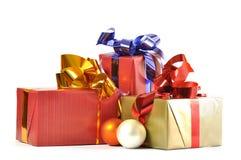 Cadeau et babioles d'isolement Images stock