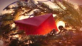 Cadeau et babioles de Noël Photos stock