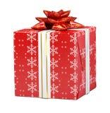 Cadeau et houx Photographie stock