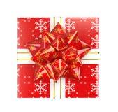 Cadeau et houx Image libre de droits
