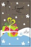 Cadeau et ondes Illustration Libre de Droits