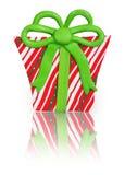 Cadeau fait d'argile de polymère Photo libre de droits