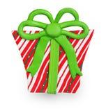 Cadeau fait d'argile de polymère Image stock