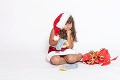 Cadeau inadéquat de Noël image stock