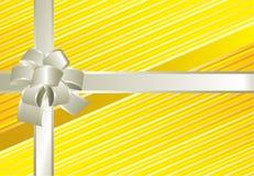 Cadeau jaune Images stock