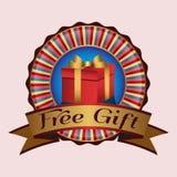 Cadeau libre Image libre de droits