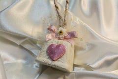 Cadeau mignon pour le jour du ` s de Valentine Photo libre de droits