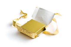 Cadeau non emballé photographie stock