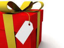 cadeau parfait Image libre de droits