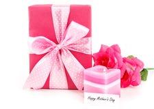 Cadeau pour la maman Images libres de droits