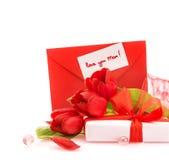 Cadeau pour le jour de mères Photo stock