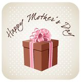 Cadeau pour le jour de mères Photos stock
