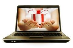 Cadeau pour vous Photo libre de droits