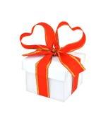 Cadeau romantique Photo stock