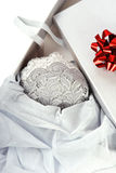 Cadeau romantique. Image libre de droits