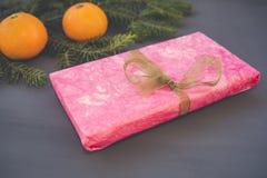 Cadeau rose Images stock
