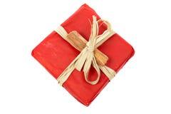 Cadeau rouge Photos libres de droits