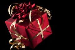 Cadeau rouge Image libre de droits