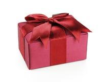 Cadeau rouge de l'amour Images stock