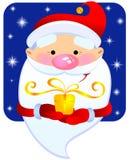 cadeau Santa Illustration Libre de Droits