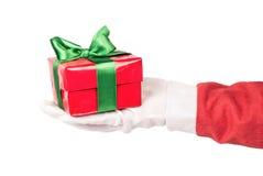 cadeau Santa de Claus Image libre de droits