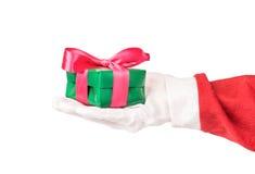 cadeau Santa de Claus Photos stock