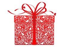 Cadeau stylisé - vecteur Image stock