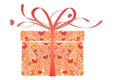 Cadeau stylisé - vecteur Photo libre de droits