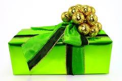 Cadeau vert Images libres de droits