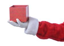 cadeau vide Santa de cadre images stock