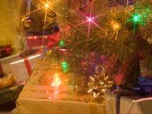 Cadeaux 1 de Noël Images libres de droits