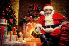 Cadeaux apportés Photographie stock libre de droits