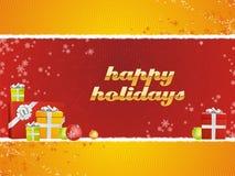 cadeaux bonnes fêtes Photo libre de droits