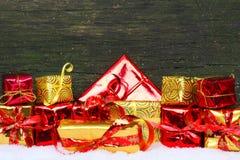 Cadeaux, cadeaux de Noël Photos libres de droits
