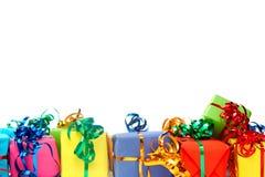 Cadeaux colorés Photographie stock