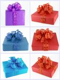 Cadeaux colorés Photos libres de droits
